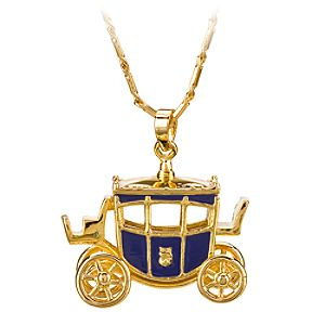 Cinderella Carriage Necklace by Disney Couture