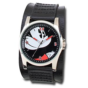 Leather Mickey Mouse Watch