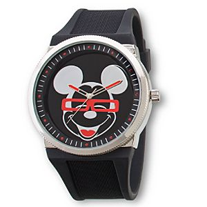 Four Eyes Mickey Mouse Watch