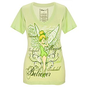 Organic Dreamer Tinker Bell Tee for Women