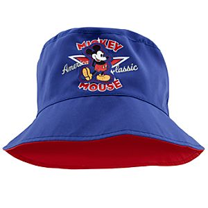 Personalized Americana Mickey Mouse Bucket Hat for Kids