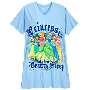 Blue Disney Princess Sleepshirt