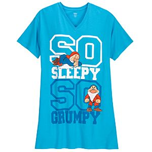 Sleepy and Grumpy Nightshirt for Women