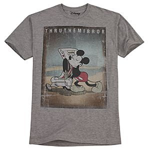 Vintage Thru The Mirror Mickey Mouse Tee