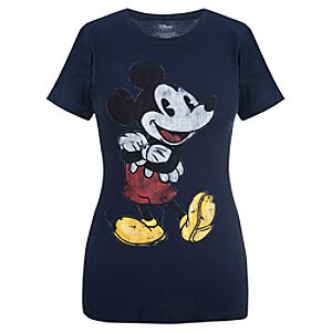 Fitted Mickey Mouse Tee