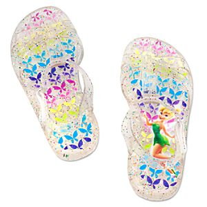 Glitter Jelly Tinker Bell Sandals