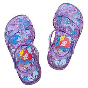 Glitter Jelly Ariel Sandals