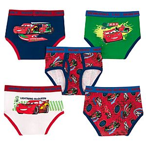 Disney Cars 2 Underwear Set -- 5-Pack