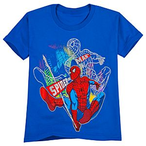Metallic Spider-Man Tee