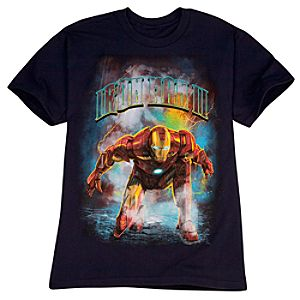Bad Timing Iron Man 2 Tee for Boys