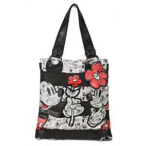 Comic Minnie and Mickey Mouse Tote