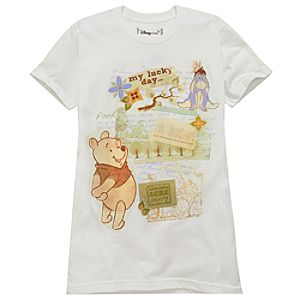 Organic Scrapbook Eeyore and Pooh Tee