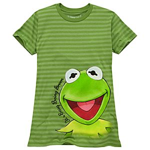 Organic Its Easy Being Green Kermit Tee