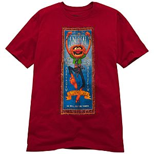 Organic Animal Muppets Tee for Men