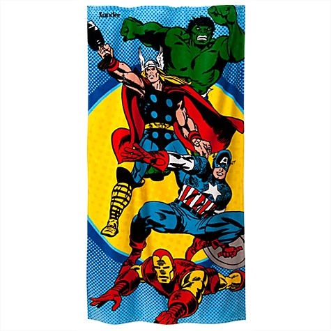 Personalized Marvel Beach Towel