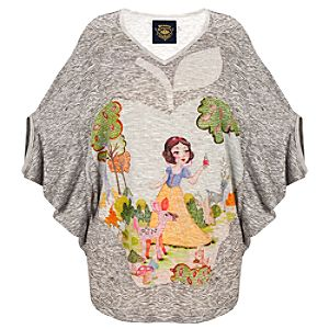 Dolman Sleeve Snow White Top by Disney Couture