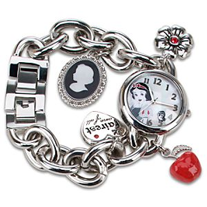 Snow White Charm Watch