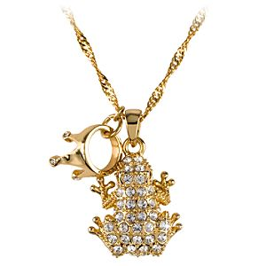 Kidada for Disney Store Tiana Crystal Pendant Necklace