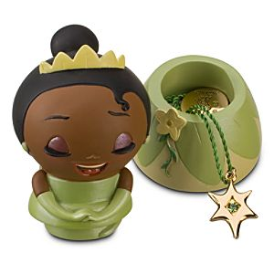 Kidada for Disney Store Wish-a-Little Tiana Figure with Charm Necklace