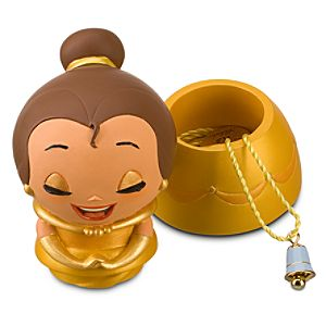 Kidada for Disney Store Wish-a-Little Belle Figure with Charm Necklace