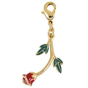 Kidada for Disney Store Belle Enchanted Rose Charm