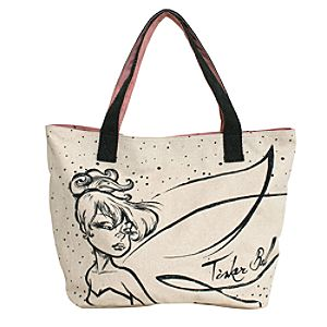 Canvas Tinker Bell Tote