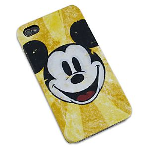 Yellow Mickey Mouse iPhone 4 Case