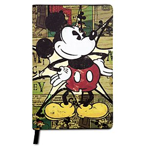 Comic Mickey Mouse Journal