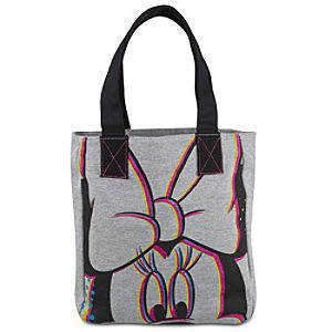 Glitter Minnie Mouse Tote