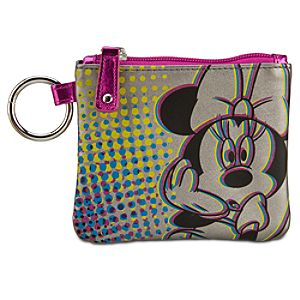Glitter Minnie Mouse Coin Purse