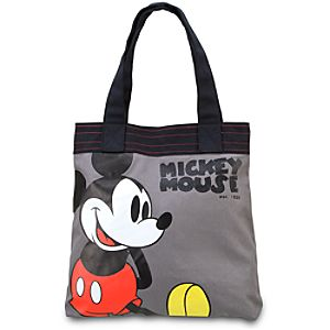 Canvas Mickey Mouse Tote Bag
