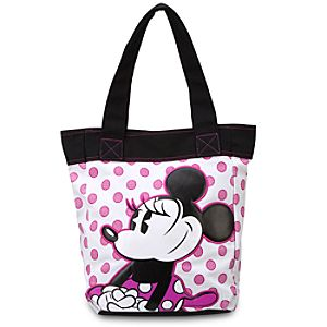 Canvas Minnie Mouse Tote Bag