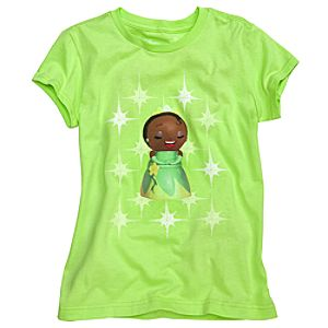 Kidada for Disney Store Organic Cotton Tiana Wish-a-Little Tee for Girls