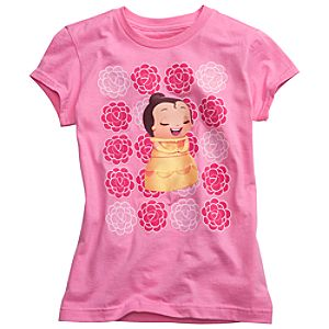 Kidada for Disney Store Organic Cotton Belle Wish-a-Little Tee for Girls