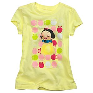 Kidada for Disney Store Organic Cotton Snow White Wish-a-Little Tee for Girls