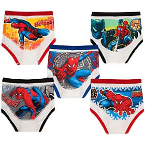 Spider-Man Underwear Set for Boys -- 5-Pack
