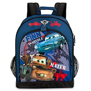 Cars 2 Mater and Finn McMissile Backpack
