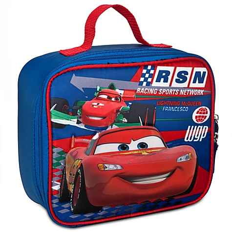 Cars 2 Lunch Tote