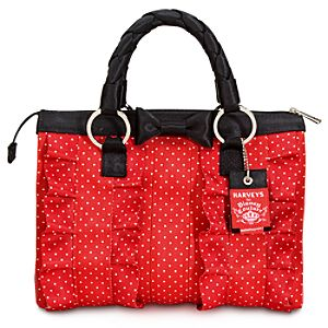 Harveys for Disney Couture Ruffled Minnie Mouse Tote