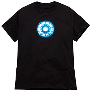 Glow-in-the-Dark Arc Reactor Iron Man 2 Tee