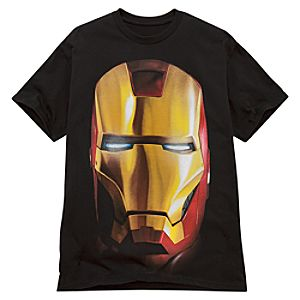 Iron Man Helmet Iron Man 2 Tee for Men