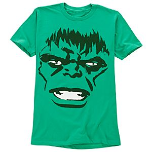 Green Big Face Hulk Tee