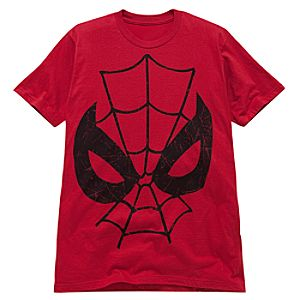 Red Big Face Spider-Man Tee