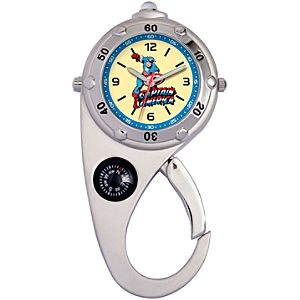 Carabiner Captain America Watch with Light