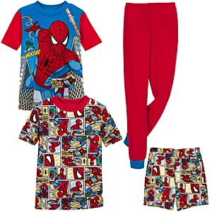 Spider-Man PJ Sets for Boys -- 2-Pack