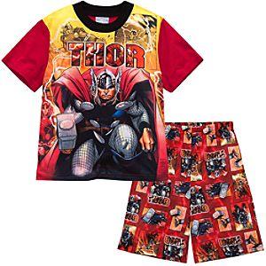 Short Thor PJ Set for Boys