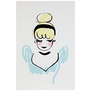 D23 Membership Exclusive Cinderella Gallery Wrapped Canvas