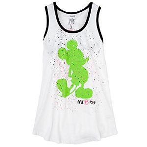 Mickey Mouse Racerback Tank Top for Older Girls