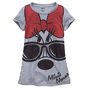 Sunglasses Minnie Mouse Tee for Girls