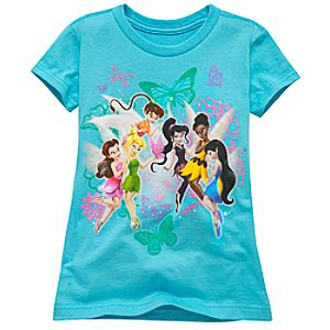 Disney Fairies Tee for Girls -- Made With Organic Cotton